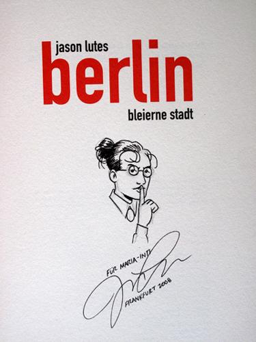 Autogramm Jason Lutes